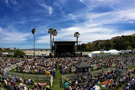 Image of a concert at Avila Beach Golf Resort