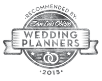 Recommended by San Luis Obispo Wedding Planners 2015